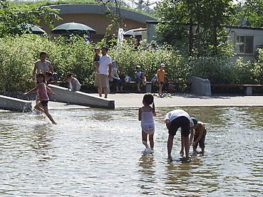 十勝エコロジーパークの「水と霧の遊び場」3