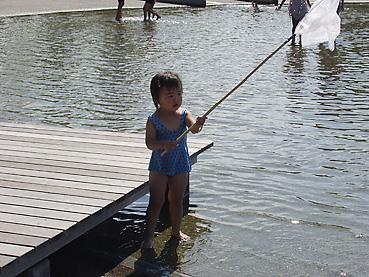 十勝エコロジーパークの「水と霧の遊び場」4