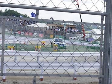 WRC会場