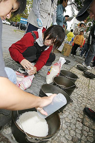 米を炊こう!