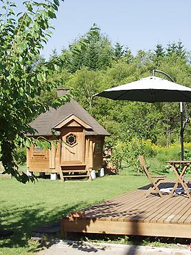 自作ガーデンハウス