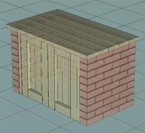 日曜大工支援 3D設計ソフト「2xBuilder」