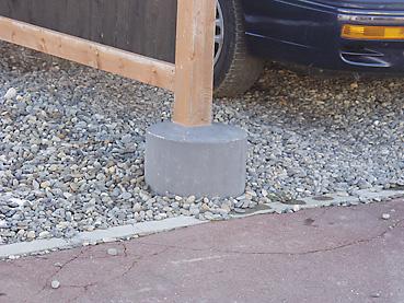 カーポートは、格安で自作できる!ご近所のカーポートを調査その2~物置付き1台用カーポート