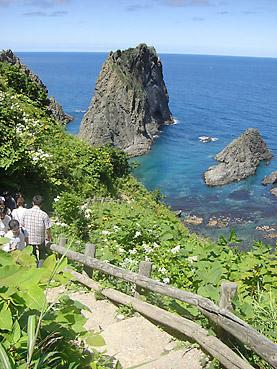 積丹半島の絶景「島武意海岸」