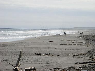 北海道・十勝沿岸は鮭釣りの最盛期スタート! 浦幌・十勝川河口で始めての鮭釣りに挑戦!