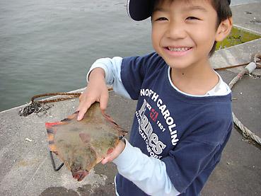 十勝の浜大樹漁港で、クロガシラとキュウリウオが釣れたよ!